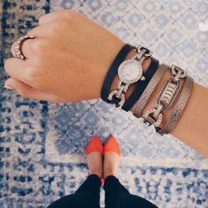 Chloe + Isabel Convertible Watch & Bracelet Set